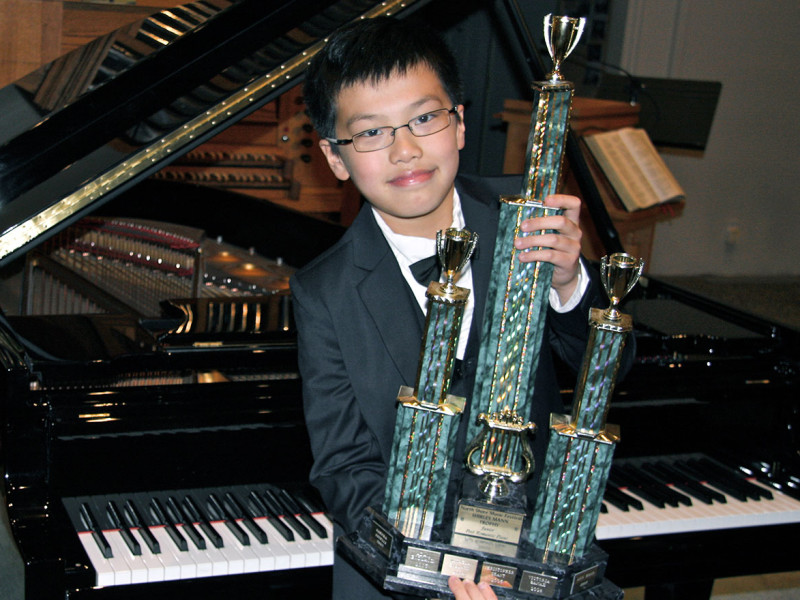 Jim Hejin - Trophy Winner, North Shore Piano Competition, 2014 and First Place, International Russian Music Piano Competition, 2014