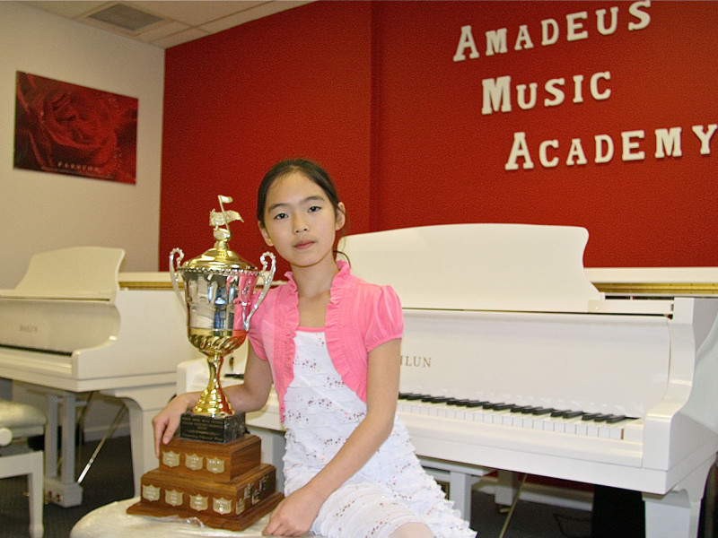 Sabrina Yu - First Place and Trophy Winner, North Shore Piano Competition, 2015